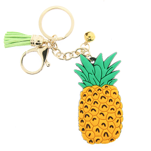 (Keychain 054 34) Pineapple