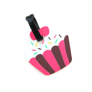 Luggage Tag 055 cup cake luggage tag