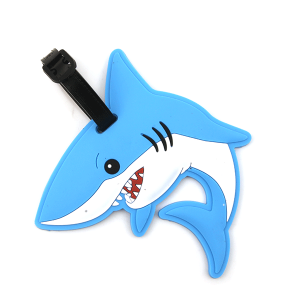 Luggage Tag 059a 34 shark blue