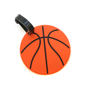 Luggage Tag 034b basketball