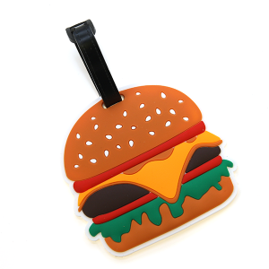 Luggage Tag 037b cheeseburger