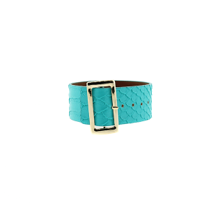 Bracelet 365d 70 buckle python snake turquoise
