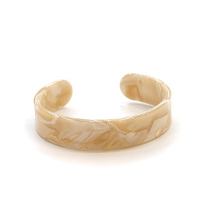 Bracelet 276b 36 Andante ivory resin cuff