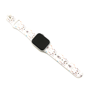 Watch Band 134d 08 38mm 40mm longhorn hope white