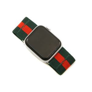 Watch Band 126f 08 38mm 40mm stripe stretch green red