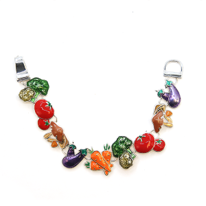Bracelet 006 40 Icon Collection vegetable bracelet multicolor