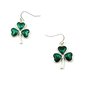 Earring 002c 40 Icon Collection heart clover earrings