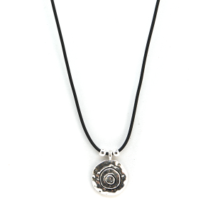 Necklace 2061 40 Icon Collection western chic string necklace silver