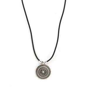 Necklace 2062 40 Icon Collection western chic string necklace silver