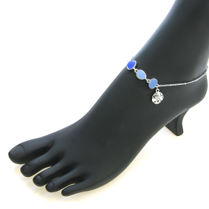 Anklet 009 40 Icon Collection seastar anklet blue