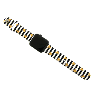 Watch Band 012c 08 stripe heart 42mm 44mm