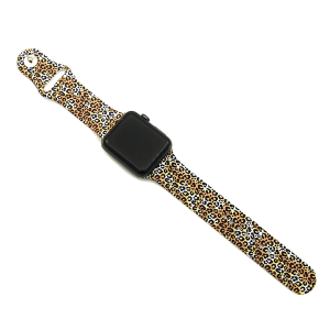 Watch Band 169a 08 38mm 40mm leopard brown