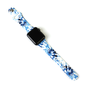 Watch Band 206 08 42mm 44mm watch band tie dye blue