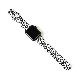 Watch Band 208 08 42mm 44mm watch band black white leopard