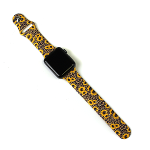 Watch Band 035d 08 42mm 44mm watch band leopard sunflower