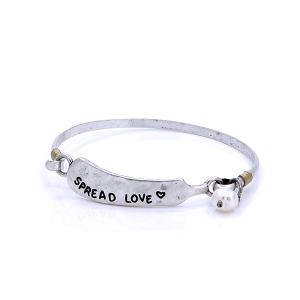 Bracelet spread happiness bead silver [746 47 Oori]