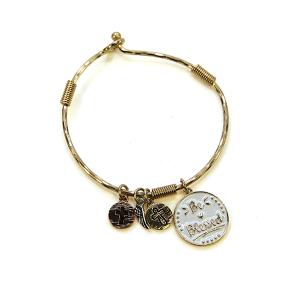 Bracelet 577a 46 Oori charm bracelet be blessed