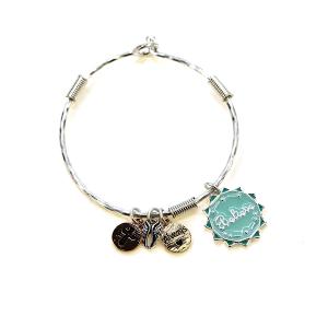 Bracelet 530c 46 Oori charm bracelet believe