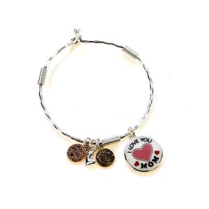 Bracelet 558c 46 Oori charm bracelet I love you mom