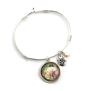 Bracelet 142c 47 Oori star fish charm bracelet