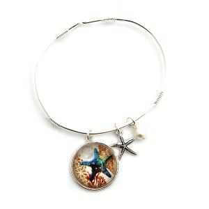 Bracelet 150c 47 Oori star fish charm bracelet