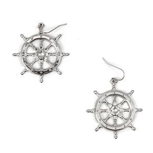 Earring 996b 50 It's Sense helm earrings silver