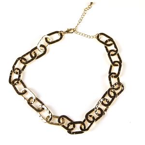 Necklace 803 50 It's Sense choker chain necklace gold