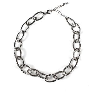 Necklace 634 50 It's Sense choker chain necklace silver