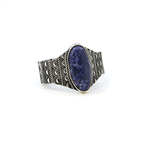 Bracelet 130e 58 Marvel navajo bracelet stretch stone blue
