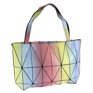 YI 6010 geometric shoulder bag multi