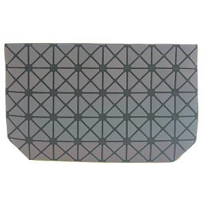 YI 6100 geometric checker crossbody clutch luminous