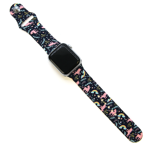 Watch Band 094c 38mm 40mm unicorn rainbow