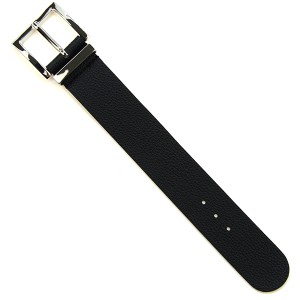 Bracelet 580c 70 solid black buckle leather bracelet