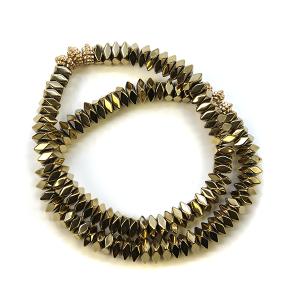 Bracelet 041c 77 Pomina 2 bracelet stack stretch gold