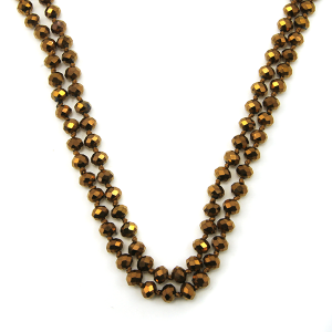 Necklace 684d 77 Pomina 30 60 inch bead necklace bronze
