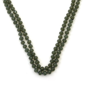 Necklace 374a 77 Pomina 30 60 inch bead necklace gy