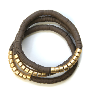 Bracelet 310a 78 A Project bracelet stack brown
