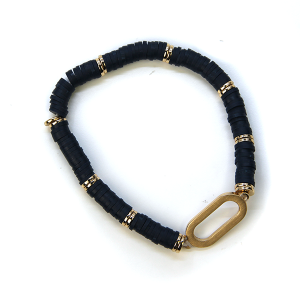 Bracelet 360 78 A Project Contemporary Bracelet Stretch navy blue