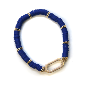 Bracelet 377a 78 A Project Contemporary Bracelet Stretch royal blue