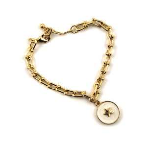 Bracelet 252d 78 A Project chain bracelet star white