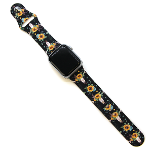 Watch Band 073a 38mm 40mm longhorn sunflower