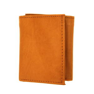 Simple trifold wallet 132 tan