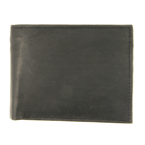 Simple bifold wallet 704 black