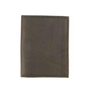 Simple button snap card holder 78 brown