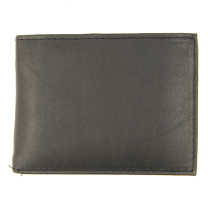 Simple bifold wallet B45 black