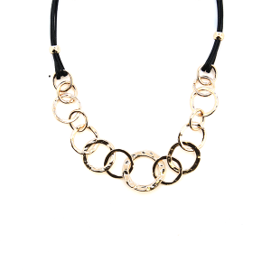 Necklace 128 99 Empire hoop ring string necklace gold