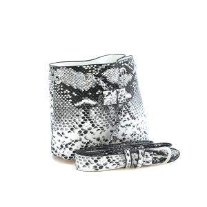 La Chic ABG485 snake skin print belt bag fanny pack