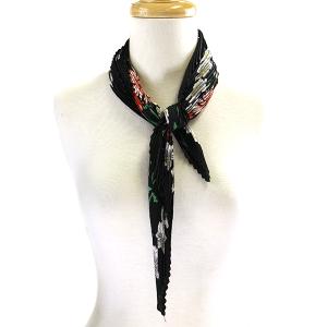 Scarf 035b 11 Fashion Collection mini scarf floral black