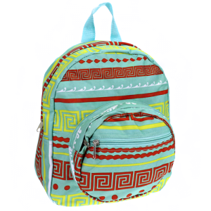 luggage B 5 16 AK mini backpack greek key turquoise