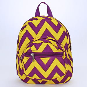 luggage B 5 601 AK mini backpack chevron purple yellow